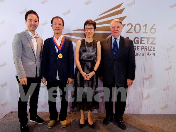 Vietnamese architect wins Asian prestigious prize hinh anh 1