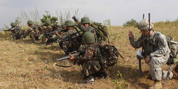 Philippine, US troops to conduct joint military exercises hinh anh 1