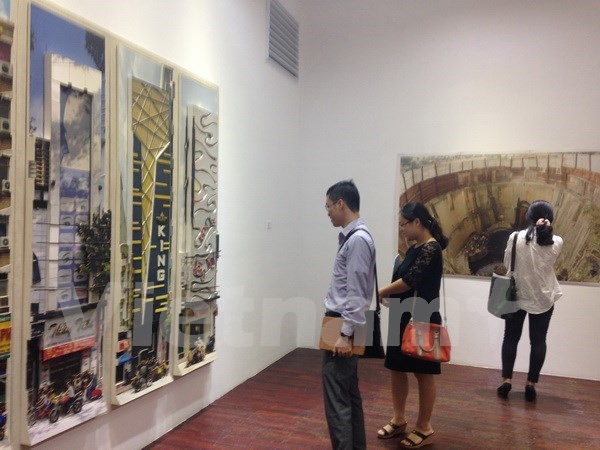 Contemporary Vietnamese art on show in Hanoi hinh anh 1