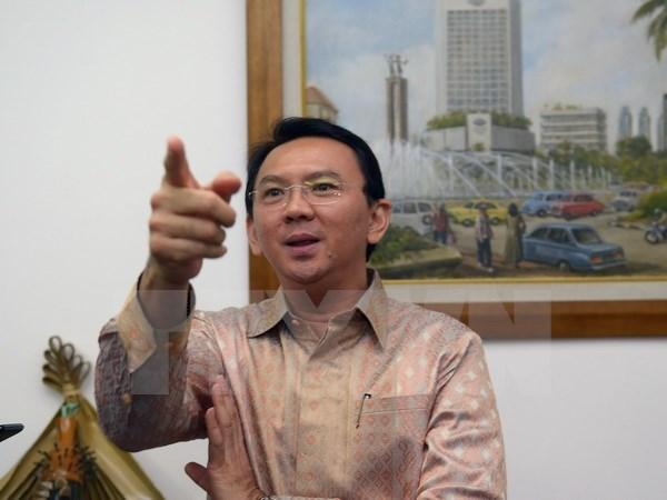 Jakarta governor declared suspect in blasphemy case hinh anh 1