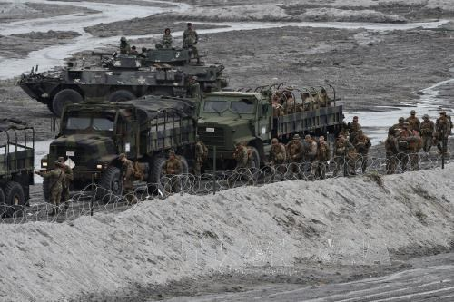 Philippine, US troops conduct joint exercises hinh anh 1