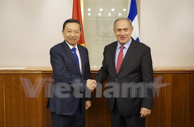 Public Security Minister's visit to foster ties with Israel hinh anh 1