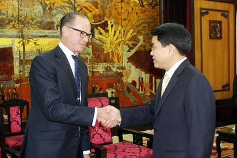 Austria eyes cooperation with Hanoi hinh anh 1