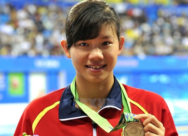 Vietnam's swimming star aims for Asian medal hinh anh 1