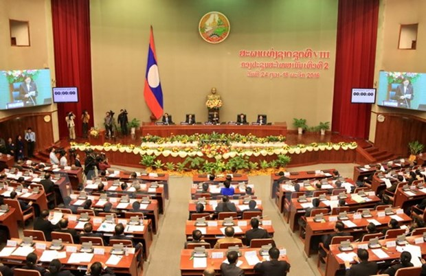 Lao National Assembly wraps up second session hinh anh 1