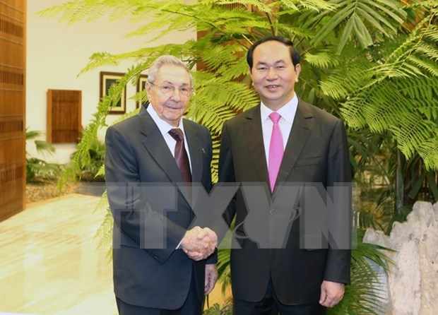 Vietnam, Cuba renew resolve to deepen ties hinh anh 1