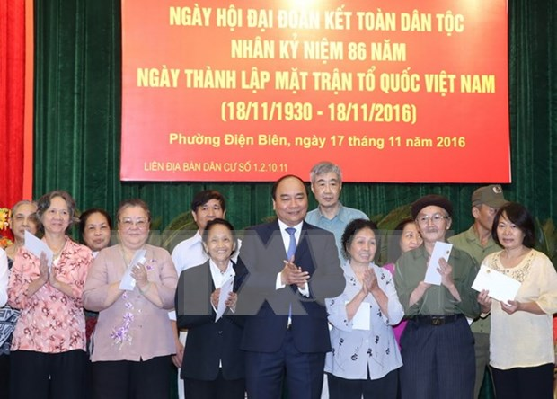 PM joins great national unity festival in Hanoi hinh anh 1