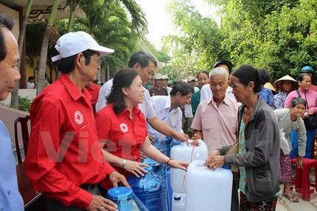 Vietnam Red Cross Society celebrates 70th anniversary hinh anh 1