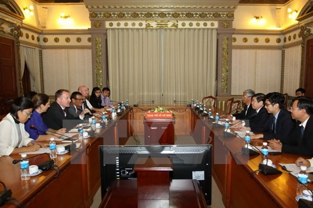 HCM City, European businesses enhance cooperation hinh anh 1