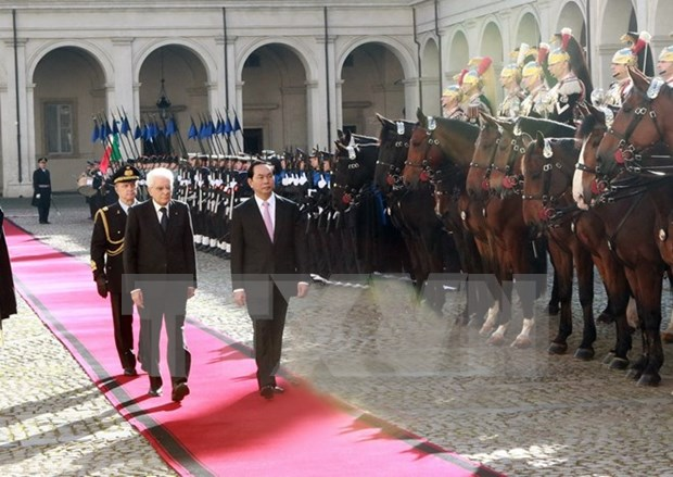 Vietnam, Italy agree to deepen strategic partnership hinh anh 1