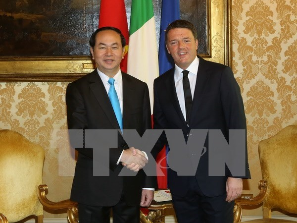 Vietnam hopes for more effective cooperation with Italy hinh anh 1