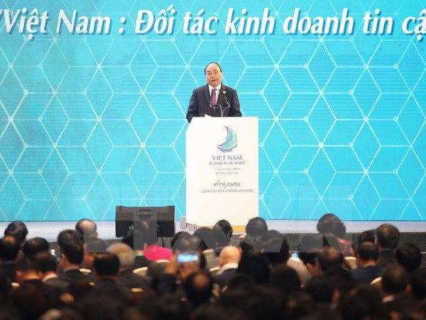 APEC 2017: PM attends Vietnam Business Summit hinh anh 1