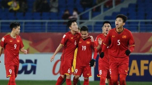 Vietnam beat Iraq for Asian U23 champs' semi-finals hinh anh 1