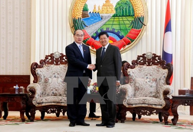 Ho Chi Minh City leader reiterates priority to ties with Laos hinh anh 1