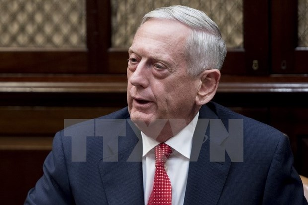 US Defence Secretary meets with Indonesian Foreign Minister hinh anh 1