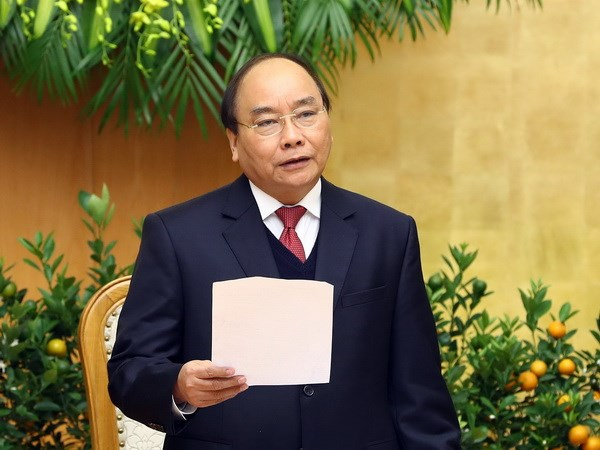PM urges building quarterly growth scenario for each sector hinh anh 1