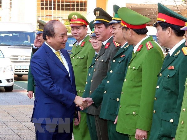 Prime Minister makes New Year visit to Da Nang hinh anh 1