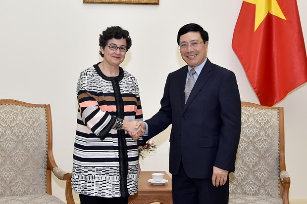 Deputy PM: Vietnam wants to receive more support from ITC hinh anh 1