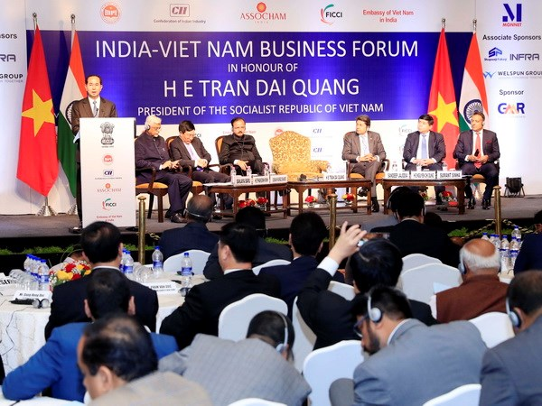 Vietnam wants deeper investment cooperation with India: President hinh anh 1