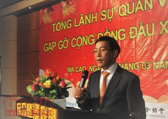Overseas Vietnamese in Macau get together hinh anh 1
