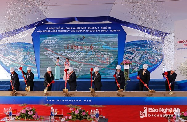Work starts on 1-billion-USD industrial zone in Nghe An hinh anh 1