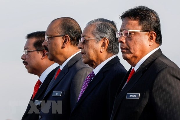 Malaysia's core cabinet sworn in hinh anh 1