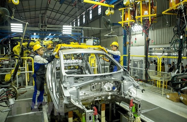 Support industry creates driving force for automobile sector hinh anh 1