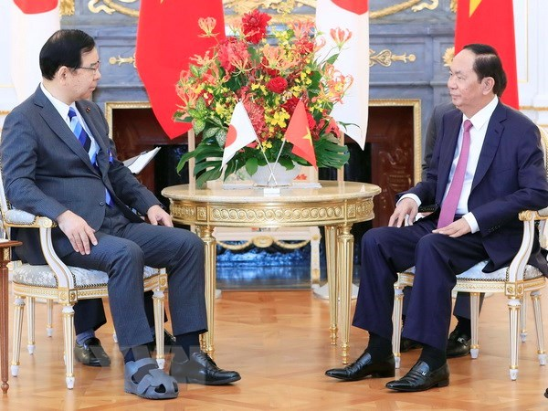 President: Vietnam – Japan ties at the best hinh anh 1