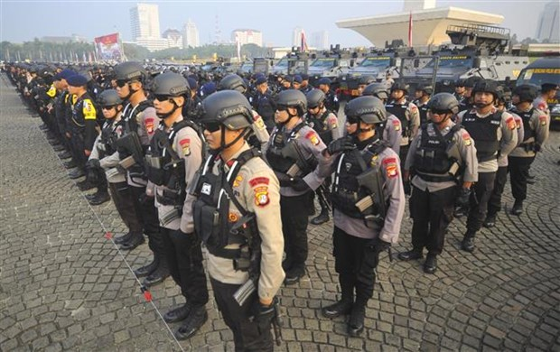 Indonesia enhances security for Idul Fitri festival hinh anh 1