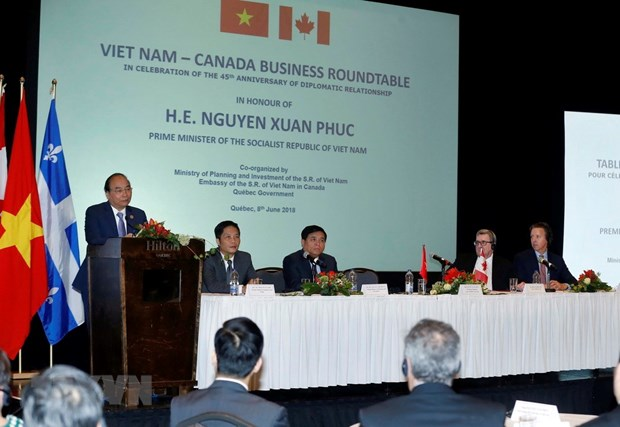 PM introduces investment opportunities to Canadian firms hinh anh 2