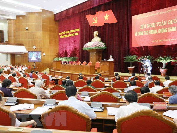 "No ""restricted areas"" accepted in corruption prevention hinh anh 1"