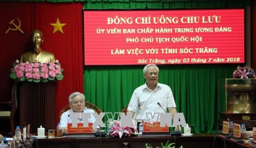 Soc Trang province urged to apply advanced technology by officials hinh anh 1