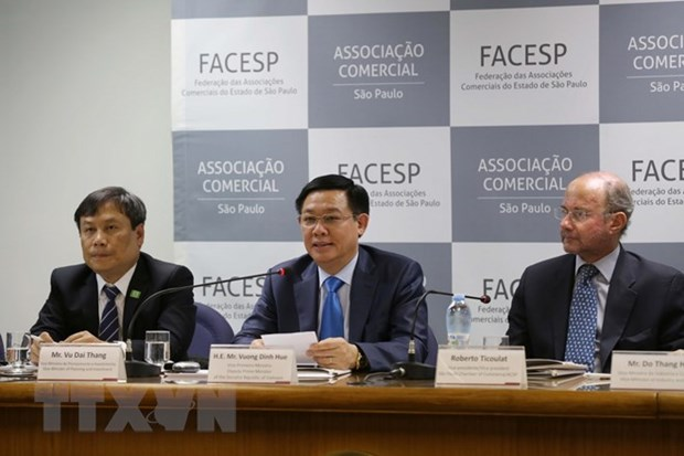 Vietnam seeks to promote trade, investment ties with Brazil hinh anh 1