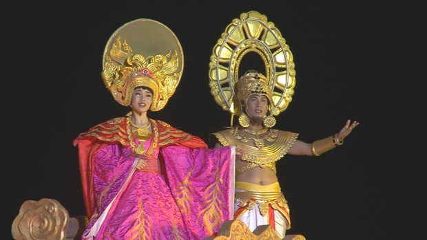 Colourful night show dazzles visitors to Hoi An hinh anh 2