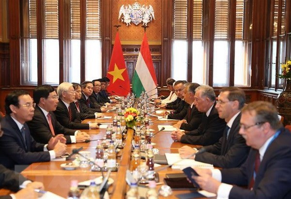 Vietnam, Hungary agree to lift relations to comprehensive partnership hinh anh 1