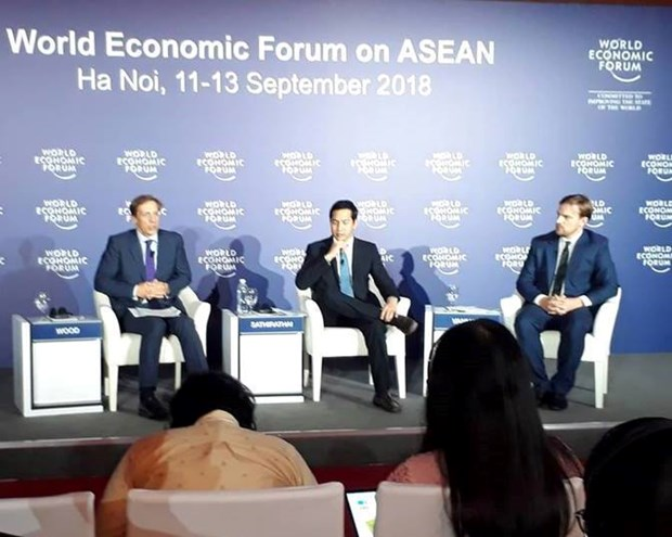WEF on ASEAN: Young Vietnamese show entrepreneurial aspiration hinh anh 1