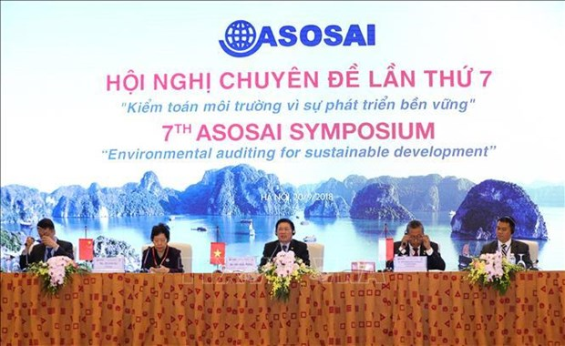 ASOSAI 14: Delegates share experience in environmental audit hinh anh 1