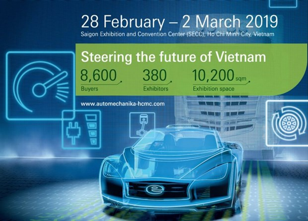 Automechanika 2019 opens in HCM City hinh anh 1