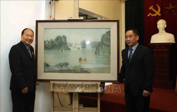 Vietnam helps Laos restore artworks hinh anh 1