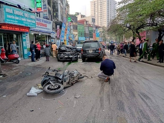 Over 1,350 people die in traffic accidents in first two months hinh anh 1