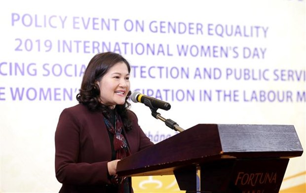Talk looks for ways to foster women's participation in labour market hinh anh 1