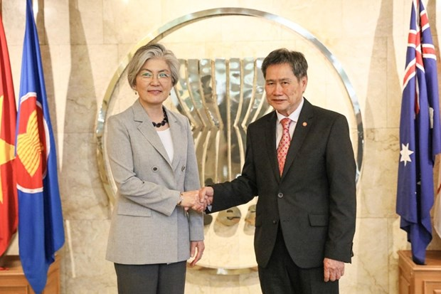 RoK hopes to expand relations with ASEAN: Kang hinh anh 1