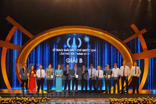 VietnamPlus wins big at National Press Awards 2018 hinh anh 2