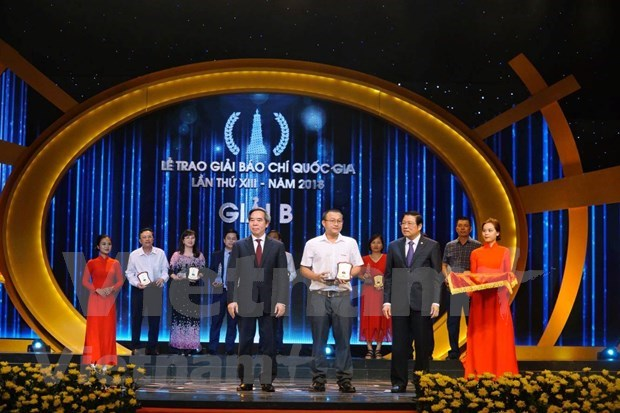 VietnamPlus wins big at National Press Awards 2018 hinh anh 4