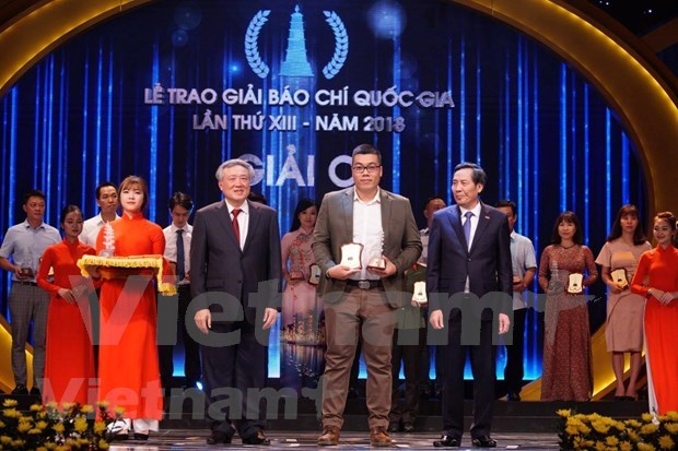 VietnamPlus wins big at National Press Awards 2018 hinh anh 5