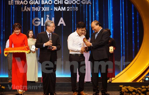VietnamPlus wins big at National Press Awards 2018 hinh anh 1
