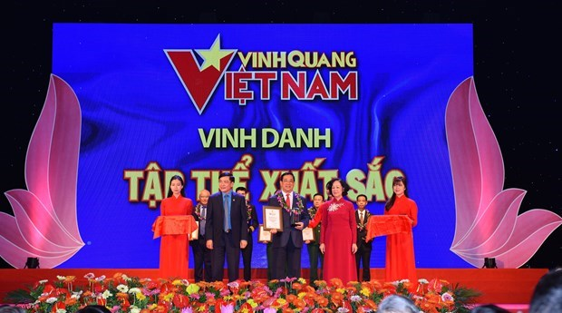 """Health sector honoured at """"Vietnam Glory"""" programme hinh anh 2"""