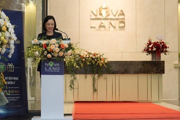 Novaland Real Estate Centre officially launched in Hanoi hinh anh 1