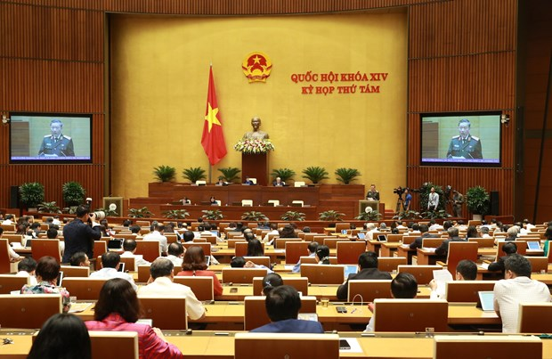 NA to consider judicial work, crime control on Nov. 4 hinh anh 1