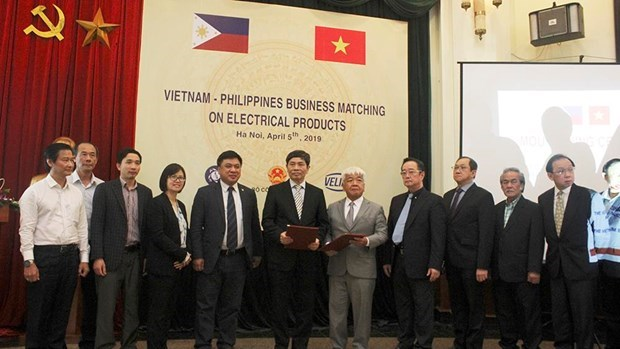 Philippine businesses eye Vietnam's electrical products hinh anh 1